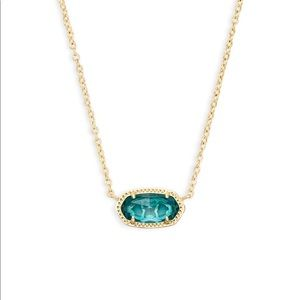 Kendra Scott necklace, London blue